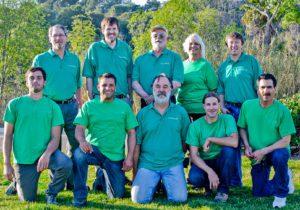 San Diego solar installer company group photo