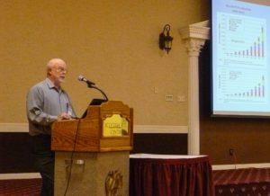 Solar installer Martin Learn teaching about Southern California solar growth