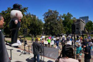 Solar political rally over AB 1139