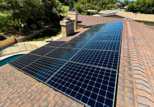 rooftop solar panels in San Diego