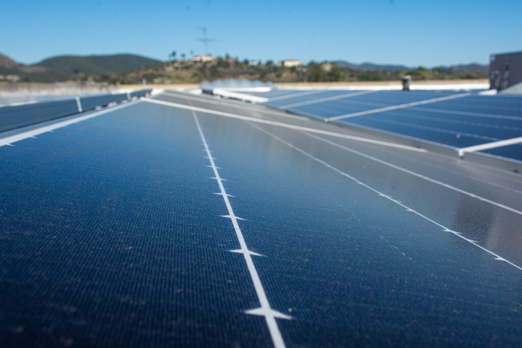 Creative Electron rooftop solar by HES Solar with SunPower panels