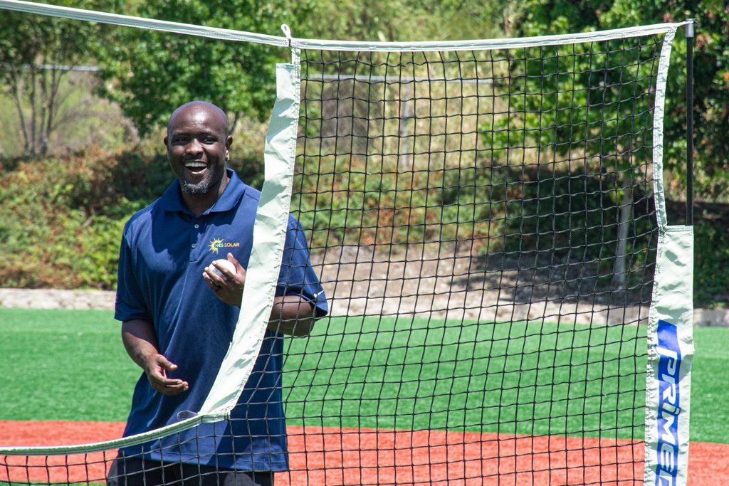 HES Solar / YMCA of San Diego County solar system offer batting clinic event with Tony Gwynn Jr. in the summer of 2021